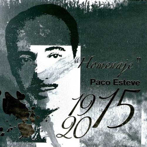 """Portada CD 15 """"Homenaje"""" Paco Esteve 1915-2015 / Unión Musical de Muro"""