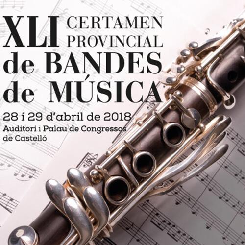 CD 20 XLI Certamen Provincial De Bandas De Música