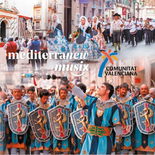 Portada CD 21 Mediterranew Musix – Comunitat Valenciana