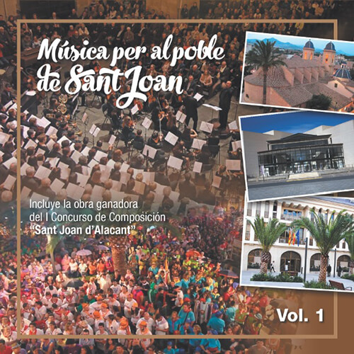 Portada CD 22 Música Per Al Poble De Sant Joan Vol. 1