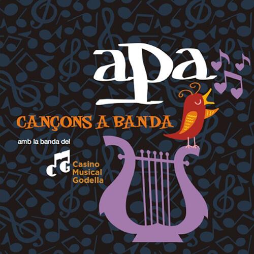 Portada CD 26: APA cançons a banda – Casino Musical de Godella