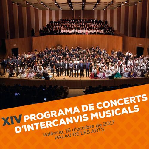 Portada CD/DVD 19 XIV Programa De Conciertos de Intercambios Musicales