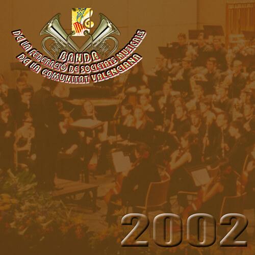 Portada CD 2 Joven Banda Sinfónica de la FSMCV / Temporada 2002