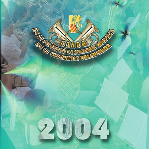 Portada CD 4 Joven Banda Sinfónica de LA FSMCV / Temporada 2004