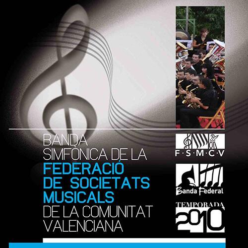 Portada CD 9 Joven Banda Sinfónica de la FSMCV / Temporada 2010