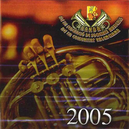 Portable CD 5 Joven Banda Sinfónica de LA FSMCV / Temporada 2005