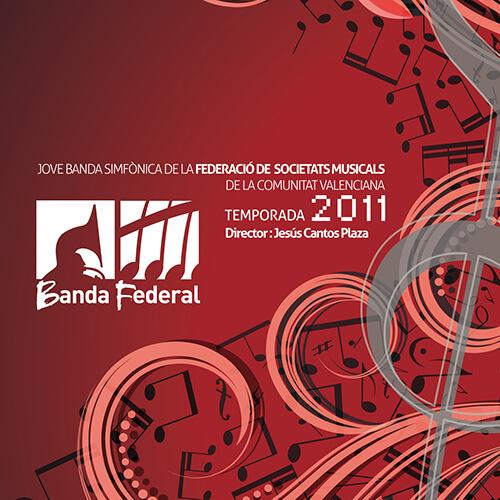 Portada CD 11 Joven Banda Sinfónica de la FSMCV / Temporada 2011