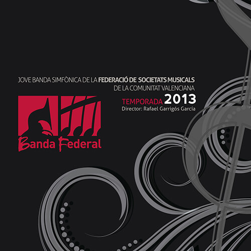 Portada CD 13 Joven Banda Sinfónica de la FSMCV / Temporada 2013