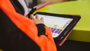 tablets y plataformas adaptadas para alumnos de musica