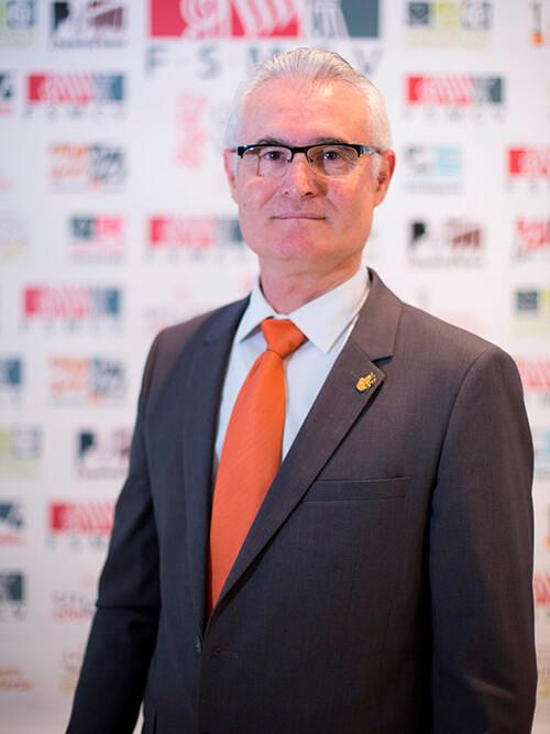Antoni Aliaga Tortajada Vocal y Presidente Comarcal Ribera Alta