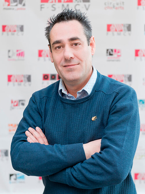 José Ángel Espinós Presidente Provincial Alacant