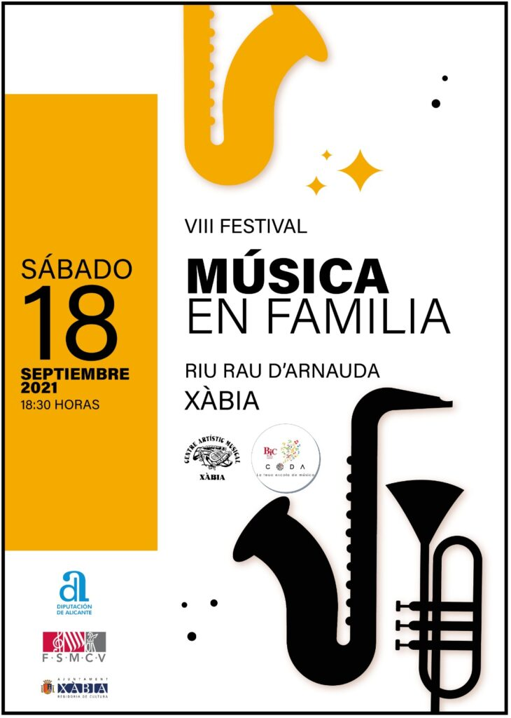 Cartel Festival Musica i Familia 2021