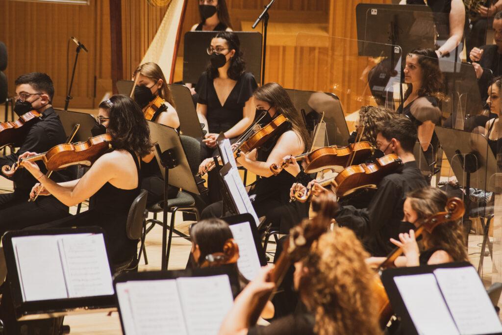 Joven Orquesta Sinfonica de la FSMCV en el Palau de Les Arts 2