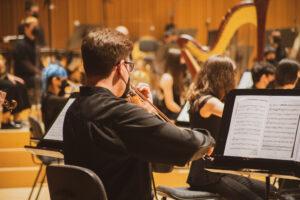 Joven Orquesta Sinfonica de la FSMCV en el Palau de Les Arts