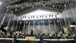 La Banda Sinfonica Ciudad de Valencia debuta sobre el escenario en Los Jardines del Palau de la Musica2